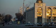 Бишкек шаарынын борбор Ала-Тоо аянты. Архив
