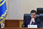 Грузиянын мурдагы президенти, учурда Украинадагы Одесса облусунунун губернатору Михаил Саакашвилинин архивдик сүрөтү
