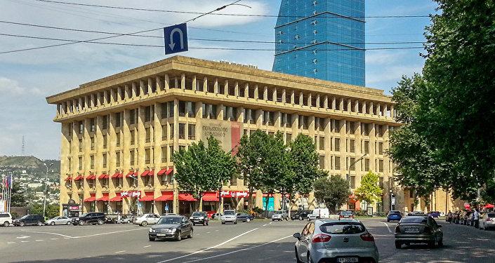 Здание в центре столицы Грузии