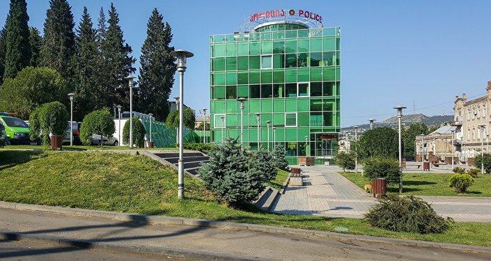 Полицейский участок в городе Тбилиси