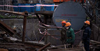 Рабочие ТЭЦ Бишкека. Архивное фото