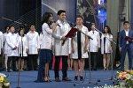 Честно служить великому делу врачевания — клятва выпускников -медиков КРСУ