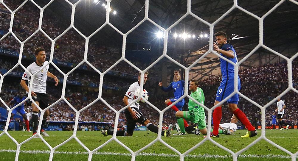 Футбол. Чемпионат Европы — 2016. Матч Германия — Франция
