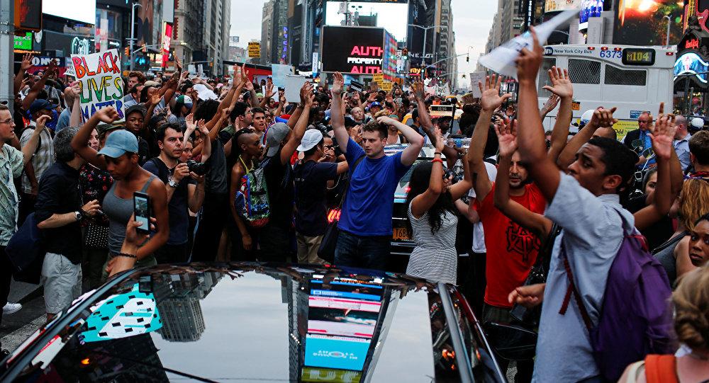 Волна протестов в США.  Архивное фото