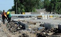 Бишкек — Манас аэропортунун оңдоо иштери. Архивдик сүрөт