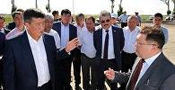 Премьер-министр Сооронбай Жээнбеков проинспектировал ход реконструкции автодороги Бишкек — международный аэропорт Манас.