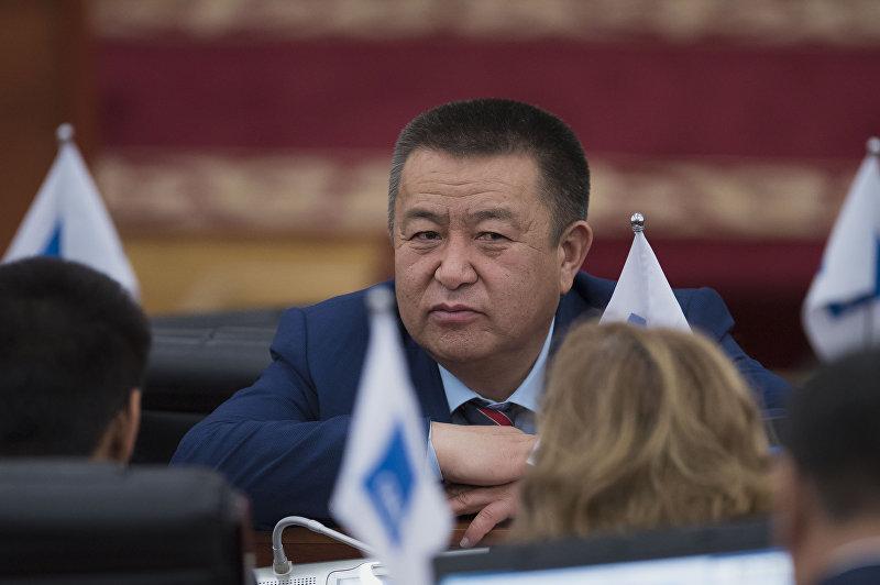 Спикер Жогорку Кенеша Чыныбай Турсунбеков. Архивное фото