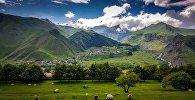 Горы Грузии. Архивное фото