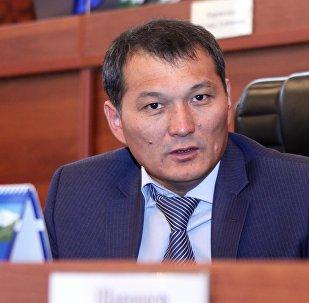 Көк бөрү федерациясынын вице-президенти Жыргалбек Саматовдун архивдик сүрөтү