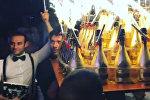 Кальян, шампанское и гимн РФ:  вечеринка российских футболистов в Монако