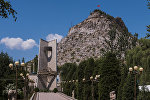 Гора Сулайман-Тоо в Оше. Архивное фото