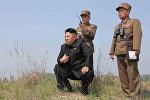 Түндүк Кореянын лидери Ким Чен Ын. Архив