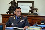 Министр внутренних дел генерал-майор Кашкар Джунушалиев. Архивное фото