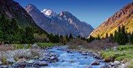 Речка в Национальном природном парке Ала-Арча, архивное фото