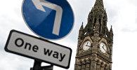 Башня ратуши в Манчестере. Архивное фото