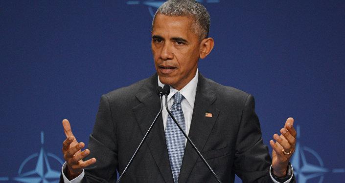 Президент США Барака Обама. Архивное фото