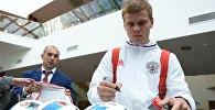 Игрок сборной России Александр Кокорин. Архивное фото