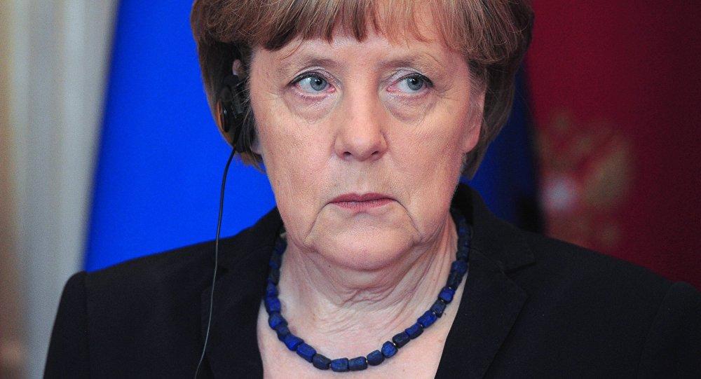 Германиянын федералдык канцлери Ангела Меркель. Архив