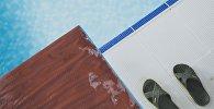 Чемпионат республики по плаванию в Бишкеке
