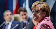 Германия федеративдүү республикасынын канцлери Ангела Меркель. Архив