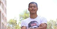 Боксер из Кыргызстана Эркин Адылбек уулу. Архивное фото