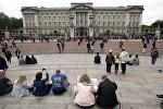 Букингемский дворец — официальная лондонская резиденция британских монархов. Архивное фото
