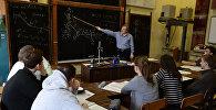 Россия университетинин окуучулары. Архивдик сүрөт