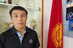 Кыргызстандык грек-рим күрөшү боюнча балбан Арсен Эралиев. Архив