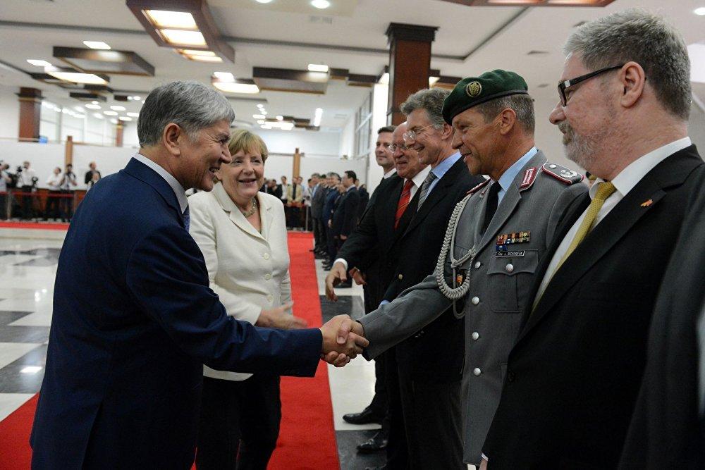 Германиянын канцлери Ангелы Меркелдин Кыргызстанга сапары