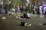 Ниццадагы терактан каза болгондордун жансыз денелери