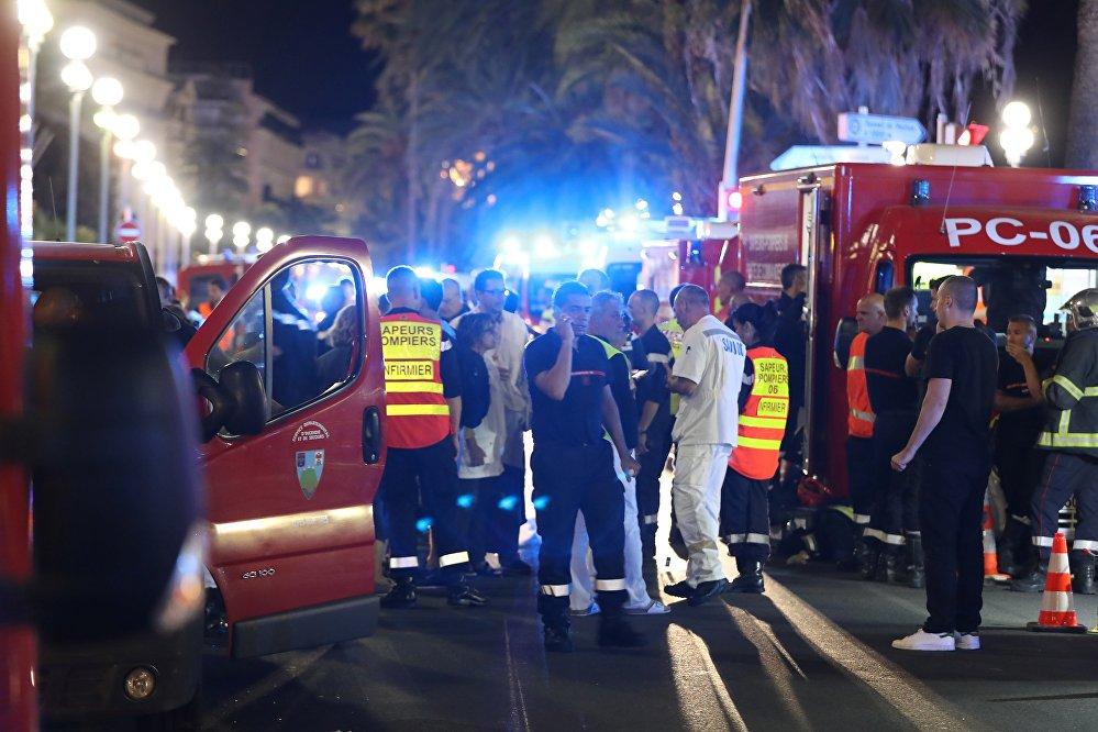 Теракт в Ницце в ходе праздника в честь Дня взятия Бастилии