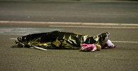 Тело погибшего в результате теракта в Ницце