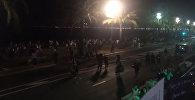 Первые минуты после теракта в Ницце. Съемка очевидцев