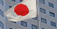 Государственный флаг Японии. Архивное фото