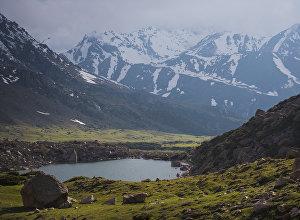 Горы Кыргызстана. Архивное фото
