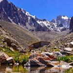 Рацек үйү. Альпинисттердин белгилүү лагери Ала-Арча улуттук паркынан жогору жайгашкан