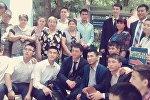 Бишкектеги 6-кичи райондо көчө китепканасы ачылды