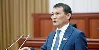 Депутат ЖК 6 созыва Жыргалбек Саматов. Архивное фото