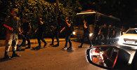 Военные на одном из улиц Анкары