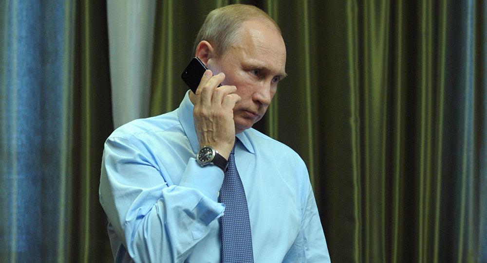 Путин провел 1-ый телефонный разговор сТрампом