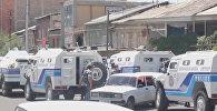 Обстановка в Ереване — кадры с места захвата полицейского участка