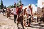 В Караколе в рамках Года истории и культуры прошел первый ночной этнофестиваль Улут баскан улуу жол.