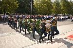 Кыргыз эл баатыры, кыргыз эл жазуучусу Сүйүнбай Эралиевди акыркы сапарга узатуу зыйнаты