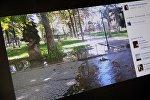 Facebook социалдык тармагынын колдонуучусу Эльнура Молдокадырованын бетинен тартылган кадр.