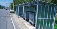 Мусорные контейнеры. Архивное фото