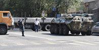 Ереван шаарынын Эребуни аймагындагы полиция. Архив