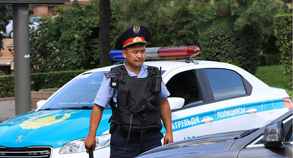 Антитеррористическая операция в Алматы