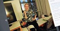 Снимок с социальной сети Instagram пользователя bulletvalentina. Тайбоксер из Кыргызстана Валентина Шевченко в Чикаго. Архивное фото