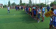 В жилом массиве Ак-Босого состоялось открытие спартакиады среди детей и подростков Первомайского района, состоящих на учете в Инспекции по делам несовершеннолетних