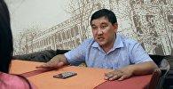Алып баруучу Алмаз Касымалиев. Архив